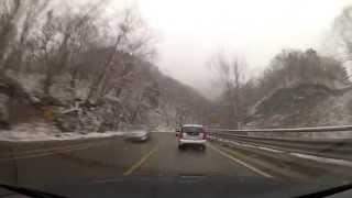 getlinkyoutube.com-Driving in Korea, Gangwon Province (강원도편)