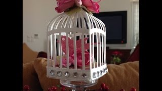 getlinkyoutube.com-Birdcage Shabby Chic Decor