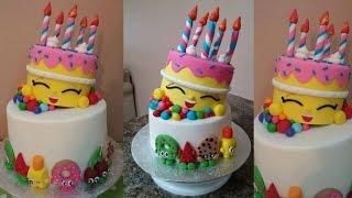 getlinkyoutube.com-Shopkins Cake Tutorial