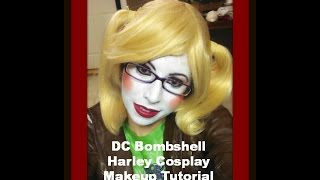getlinkyoutube.com-DC Bombshell Harley Cosplay Makeup Tutorial
