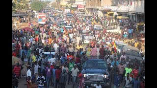 Bobi Wine puts SOROTI on lockdown, Signs start showing he could contest for Presidency
