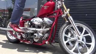 ハーレー三拍子比較 Foged flywheel vs.Cast flywheel. 鍛造クランクと鋳造クランク
