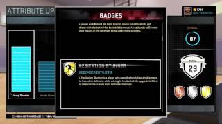 getlinkyoutube.com-NBA 2K16 MyCareer - How to unlock badges. Jordan Sneaker Contract soon ?