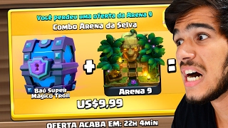 getlinkyoutube.com-ABRI UM BAÚ SUPER MÁGICO TROLL NA ÚLTIMA OFERTA DO CLASH ROYALE!!