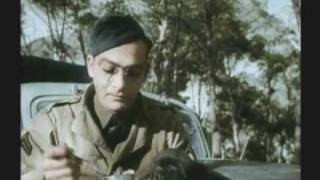 getlinkyoutube.com-WWII BATTLE OF THE BULGE 1 of 3 RARE COLOR FILM
