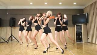getlinkyoutube.com-AOA - Like a Cat - mirrored dance practice video - Ace of Angels - 에이오에이 사뿐사뿐
