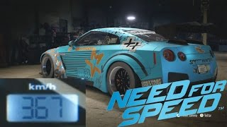 Nissan GTR Premium Tuning + Top speed - NEED FOR SPEED (2015)