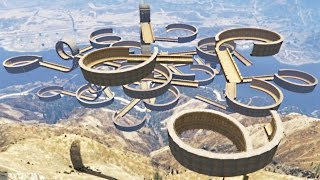 getlinkyoutube.com-ULTIMATE SKY STUNT COURSE! (GTA 5 Mod)