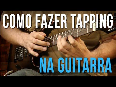 Como fazer Tapping (aula de guitarra)