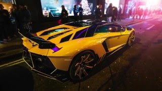 getlinkyoutube.com-Unveil in Manchester UCS Autostyling Lamborghini Aventador