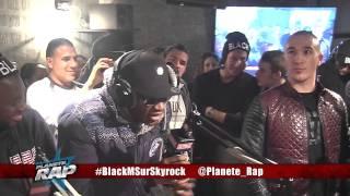 Black M feat Dr. Berize - La Légende Black en live dans Planète Rap.
