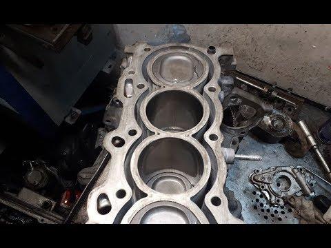 Toyota Avensis 1,8 расточка 1-ZZ : ремонт у Вадима
