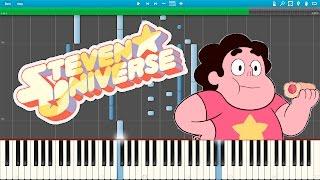 getlinkyoutube.com-Steven Universe - Giant Woman ( Piano Tutorial) [Synthesia] + MIDI