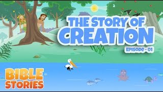 getlinkyoutube.com-Bible Stories for Kids! The Story of Creation (Episode 1)