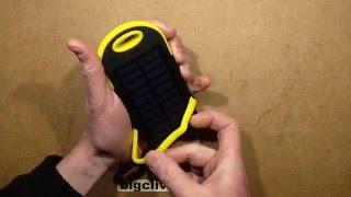 getlinkyoutube.com-A look inside another solar USB power bank.