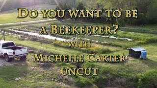 getlinkyoutube.com-Do You Want to Be a Beekeeper? with Michelle Carter UNCUT