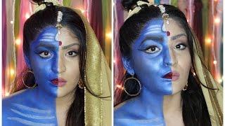 Shiv Ardhnarishwar Makeup Tutorial | Indian Mythology | #LAwithNYXIndia width=