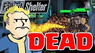 getlinkyoutube.com-MY WHOLE VAULT GETS DESTROYED! - Fallout Shelter - Fallout Shelter Lunch Box Opening