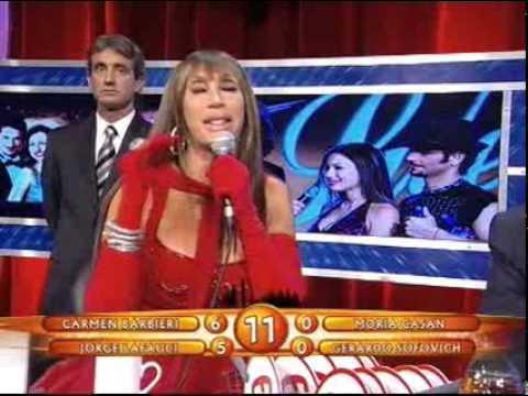 Showmatch 2008 - Pampita se peleó con Carmen y se puso a llorar