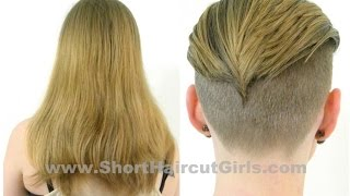 getlinkyoutube.com-Long to Short Undercut Makeover www.ShortHaircutGirls.com