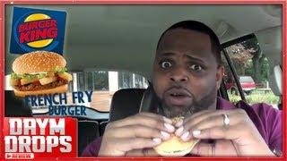 Burger King French Fry Burger
