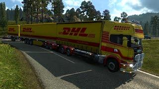 getlinkyoutube.com-Euro Truck Simulator 2. Мод: Scania Gigaliner. Жесть! (Ссылка в описании)