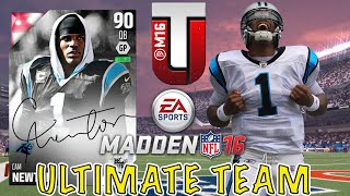 I Score 100 Points In A Game?!?!? - Madden 16 Ultimate Team