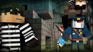 getlinkyoutube.com-Minecraft Mini-Game: COPS N ROBBERS! (ULTIMATE BRODOWN!) /w Facecam