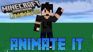 getlinkyoutube.com-Crea Cinematicas De Minecraft | Android | Tutorial Animate It