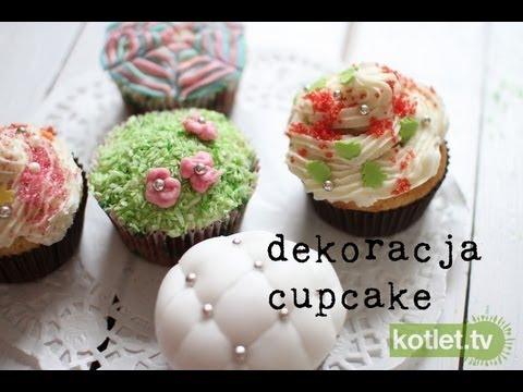 Jak dekorować cupcake, babeczki, muffiny - Kotlet.TV