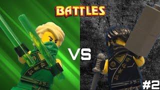 getlinkyoutube.com-Lego Ninjago: Cole vs Lloyd (Tournament)