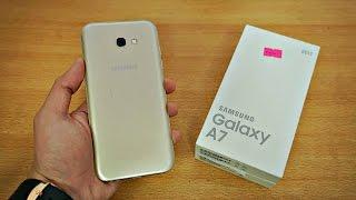 getlinkyoutube.com-Samsung Galaxy A7 (2017) - Unboxing & First Look! (4K)