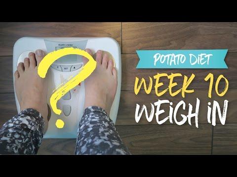 Week 10 Weigh In & Epic Potato Panini Sandwich     Potato Diet