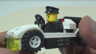 getlinkyoutube.com-Wange 경찰차와 경찰 레고 호환 미니 피규어 블록 제품 조립기