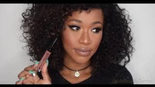 getlinkyoutube.com-TOP 10 NUDE LIPSTICKS FOR DARK SKIN Collab W/TheTemioTouch