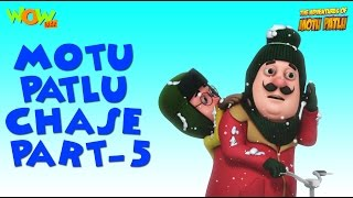 Chase - Motu Patlu Compilation - Part 5 As seen on Nickelodeon As seen on Nickelodeon