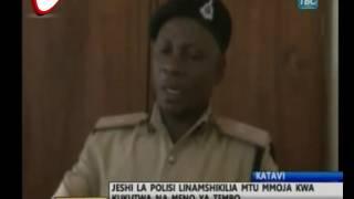 Akamatwa Na Meno 2 Ya Tembo Katavi