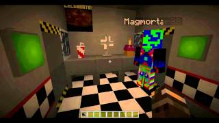 getlinkyoutube.com-Minecraft Five Nights at Freddy's Role Play!