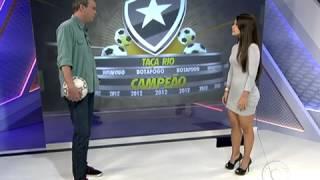 getlinkyoutube.com-Fernanda Maia, gandula destaque na final da Taçaa Rio participa do Globo Esporte