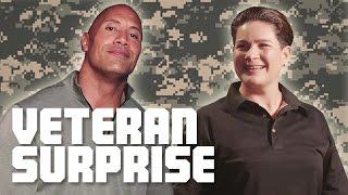The Rock Surprises A US Army Combat Veteran!