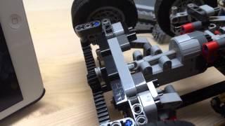getlinkyoutube.com-LEGO 42043 Improved steering module