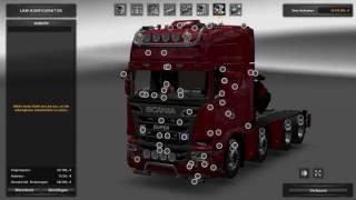 getlinkyoutube.com-(Ets2 1.25.2.6)Scania mega Mod 6.5 10x4 chassie