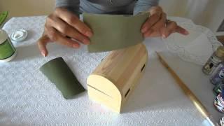 getlinkyoutube.com-Decorar una caja de madera