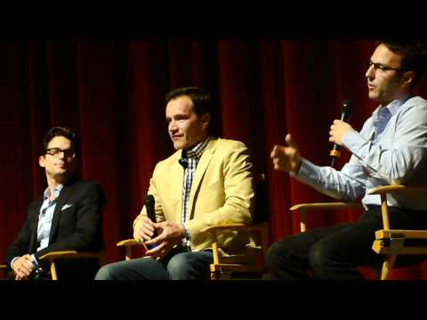 The Cast of White Collar Matthew Bomer, tim dekay, willie garson at a SAG Emmy Q and A -YcM7ddtGr30