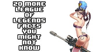 getlinkyoutube.com-20 More Awesome League Of Legends Facts You Might Not Know!