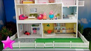 getlinkyoutube.com-Peppa Pig en español Novela 11ª# LA CASA DE PEPPA PIG Dormitorio nuevo