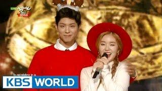 getlinkyoutube.com-Park Bogum & Irene (박보검 & 아이린) - Jingle Bell Rock [Music Bank Christmas Special / 2015.12.25]