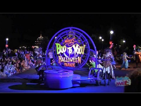 Full Boo To You parade at Mickey's Not-So-Scary Halloween Party 2012