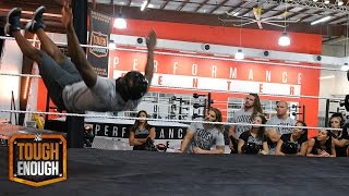 getlinkyoutube.com-The competitors take their lumps... and bumps: WWE Tough Enough, June 30, 2015