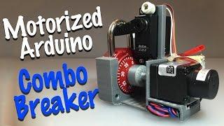 getlinkyoutube.com-Combo Breaker - motorized combo lock cracking device